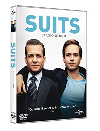 Suits - Stagione 01 (3 Dvd) [Italia]: Amazon.es: Patrick J. Adams ...