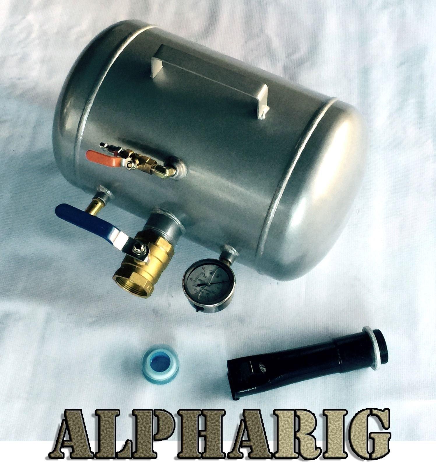 XS-Power AlphaRig 10 Gallon Tank - Air Tire Bead Seater Blaster Tool