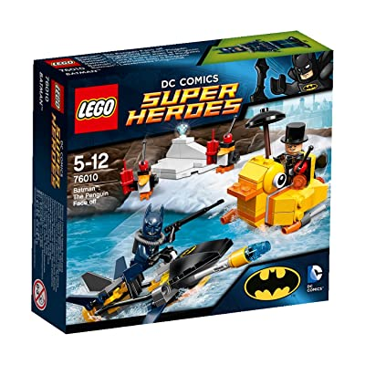 LEGO Super Heroes 76010: Batman: The Penguin Face Off: Toys & Games