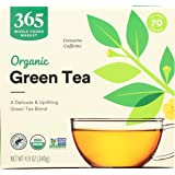 365 by Whole Foods Market, Organic Green Tea - Contains Caffeine (70 Tea Bags), 4.9 Ounce