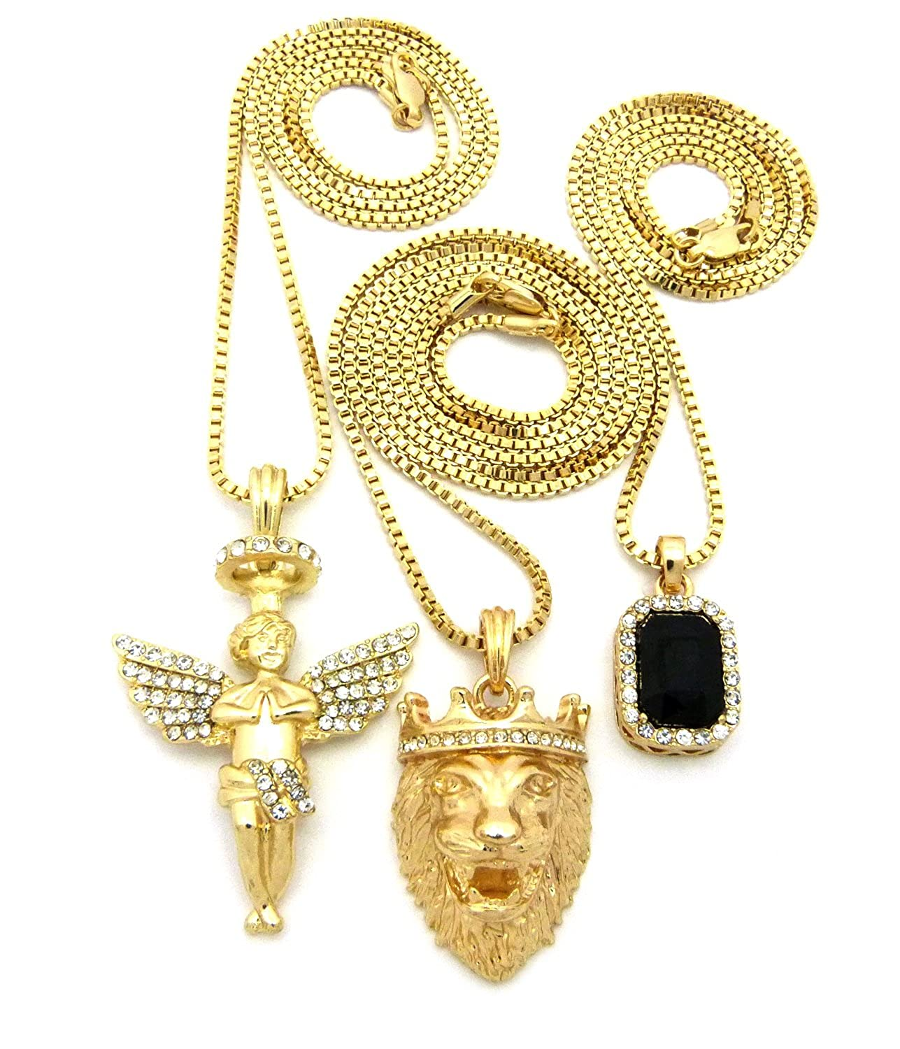 operandi lion temple by loading large gold moda clair st pendant