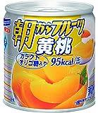はごろも 朝からフルーツ 黄桃 190g (4082)