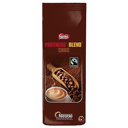 Nestlé Partners Blend Choc, Café para Máquinas de Bebida Nestlé Professional, 1000 g
