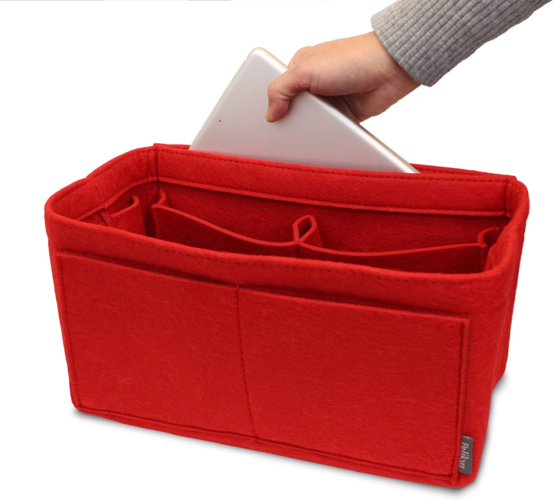 Pelikus Gef/ühlter Geldbeutel und Totalisator-Handtasche des Organisators Insert//Multi-Pocket Shaper
