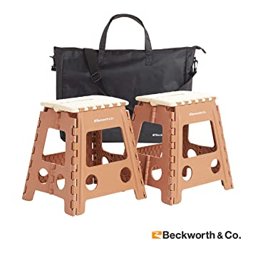 Enjoyable Beckworth Co Smartflip Multipurpose Camping And Step Stools With Carrying Case Machost Co Dining Chair Design Ideas Machostcouk