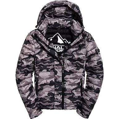 c624a8005089dd Superdry M50003NPF1 Down Jacket Man: Amazon.co.uk: Clothing