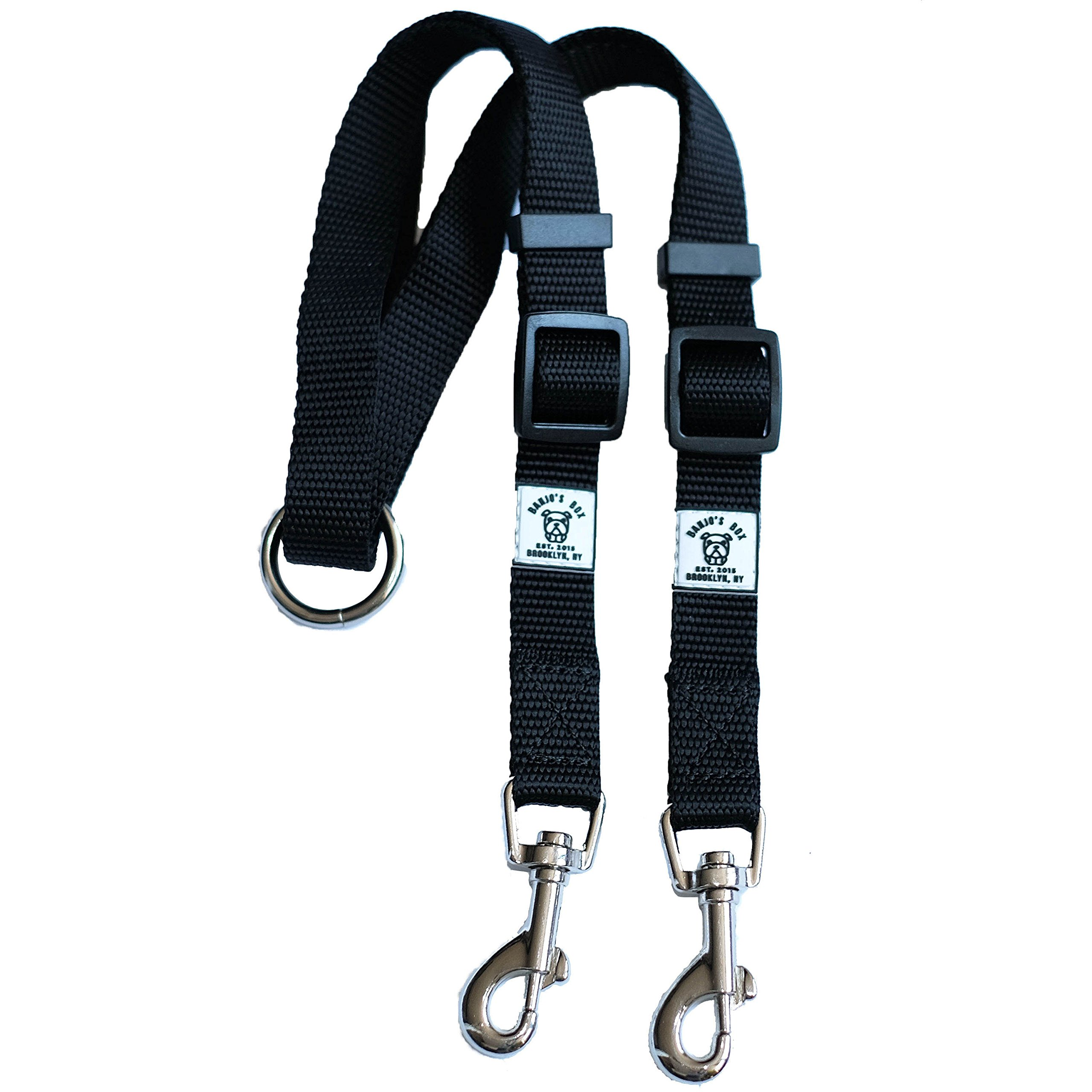 Premium Quality Tangle Free Double Dog Leash Coupler and Walker For Small, Medium & Large Dogs ... by Banjo's Box