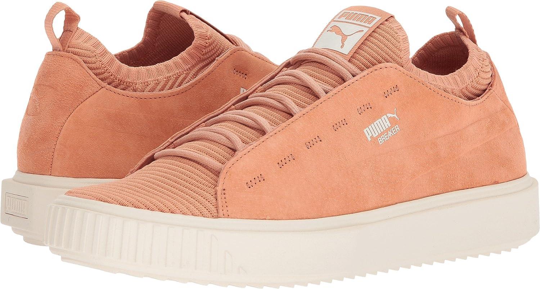 Puma Mens Breaker Knit Sunfaded Fashion Shoes   Pebble Whisper White Size 11