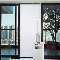 Yinong AirLock met ritssluiting voor het bevestigen aan balkondeuren raamafdichting voor mobiele airconditioners…