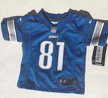 Nike NFL Detroit Lions Calvin Johnson Youth On-Field Jersey Size ...