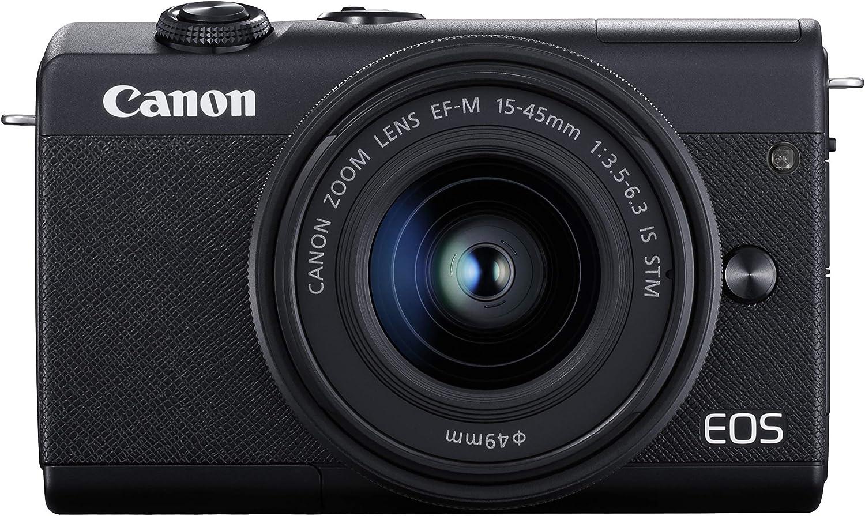 Canon Eos M200 Systemkamera Gehäuse Mit Objektiv Ef M Kamera