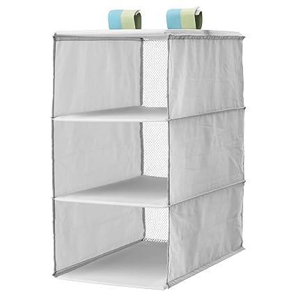 Estantería SLAKTING de IKEA; almacenamiento con 3 ...