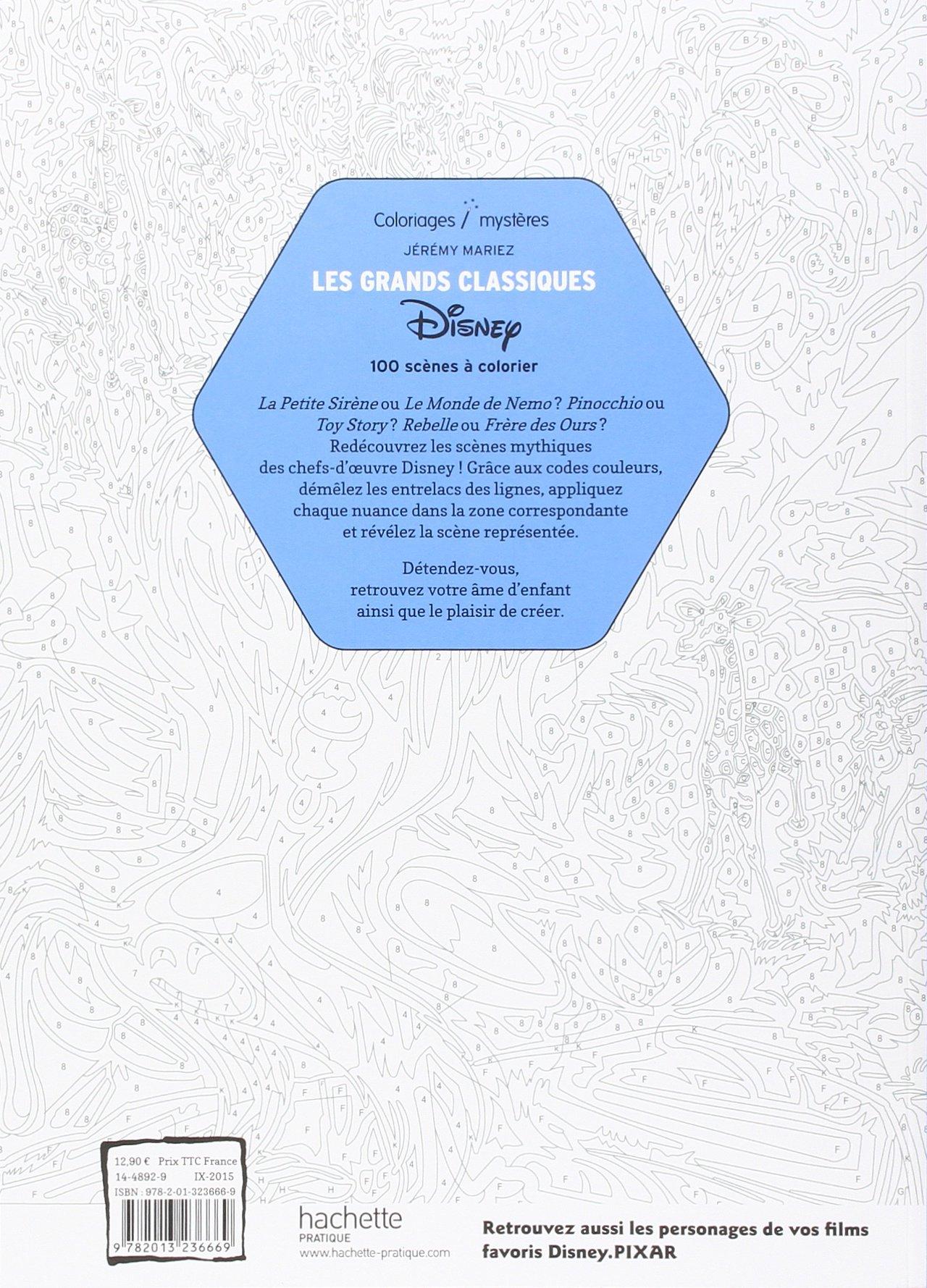 Les Grands Classiques Disney Amazonfr Jérémy Mariez Livres