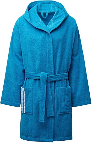 Adidas Unisex Bathrobe U Bath Robe Amazon Co Uk Sports Outdoors