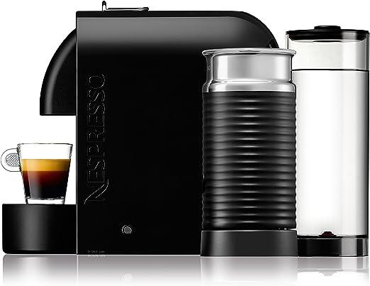 DeLonghi EN 210.BAE - Cafetera monodosis, 19 bares, máquina táctil, depósito modular, color negro: Amazon.es: Hogar