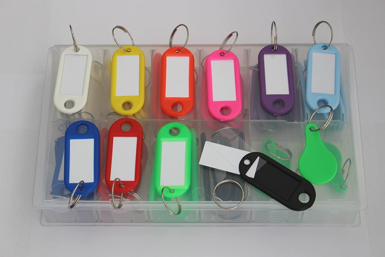 50 llavero para escribir, en caja en 10 colores: Amazon.es ...