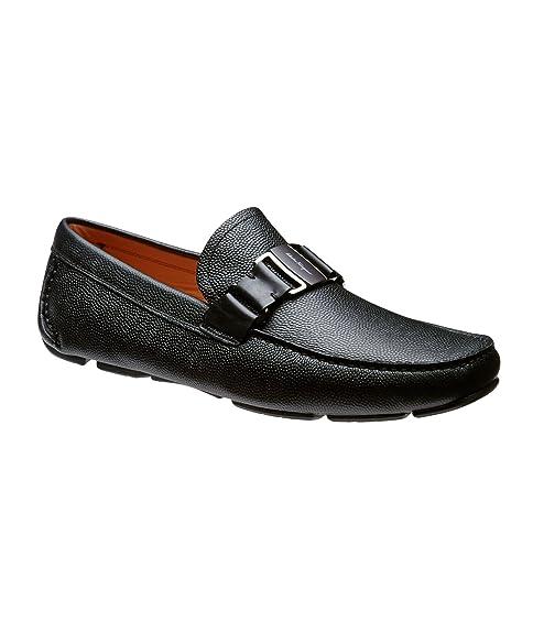 Salvatore Ferragamo Sardegna Negro Zapatos de Piel de curtido Triple E EEE   Amazon.es  Zapatos y complementos e0fe753807