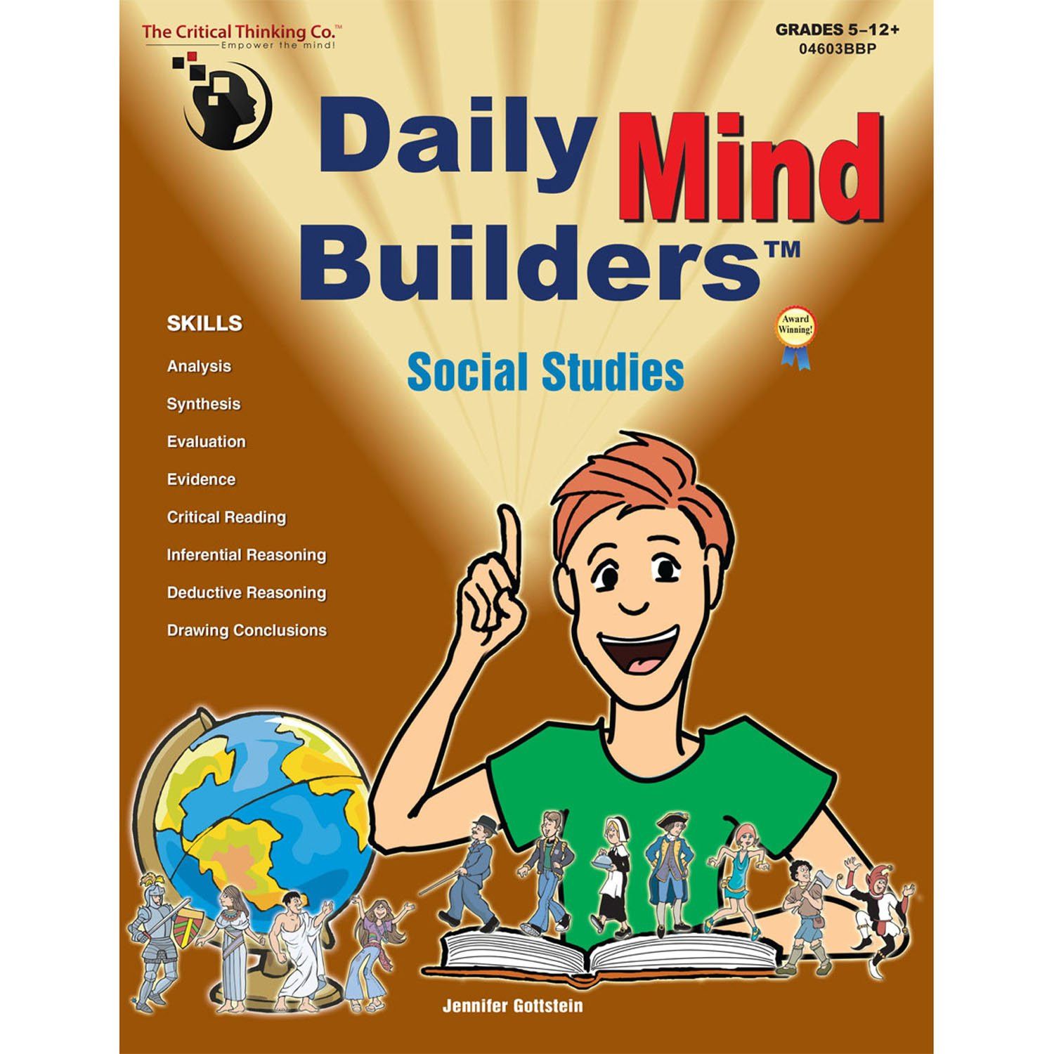 The Critical Thinking Daily Mind Builders: Social Studies Book School Workbook