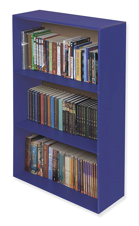 Amazon Com Classroom Keepers Upright Bookcase Blue 001332