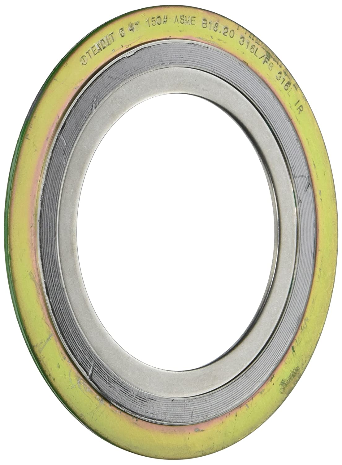 Pack of 6 Pack of 6 1-1//2 Pipe Size x 150# Class Flange x 316SS//Flexible Graphite Sterling Seal /& Supply SSS 9000IR1500316GR150X6 Spiral Wound Gasket with 316SS Inner Ring Inc. 1-1//2 Pipe Size x 150# Class Flange x 316SS//Flexible Graphite