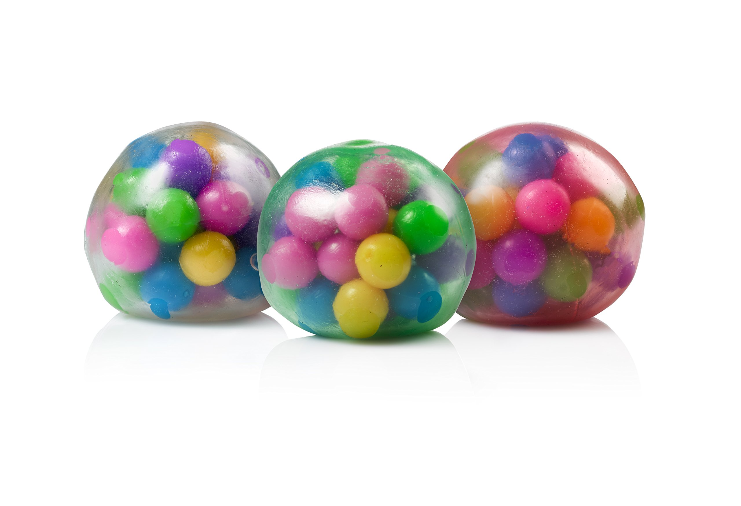 DNA Stress Ball by YoYa Toys 3 Pack Squeezing Stress Relief Ball