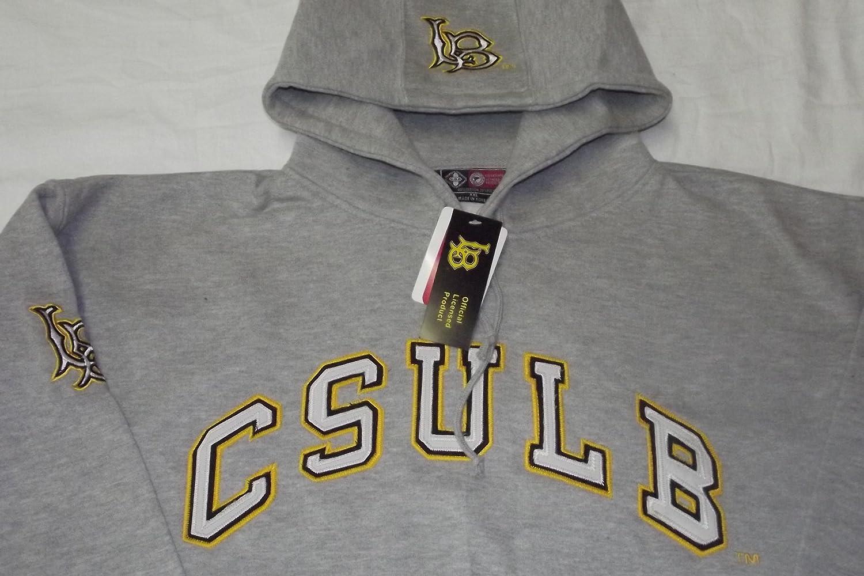 新しい。University of California Long Beach長袖フード付きサイズ2 x l B07B2NGW87