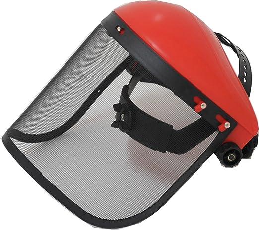 Bricoferr PTVI006 Visera con rejilla de protección para utilizar ...