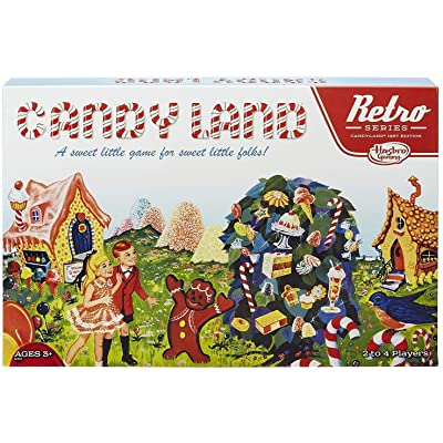 Retro Series Candy Land 1967 Edition Game: Toys & Games