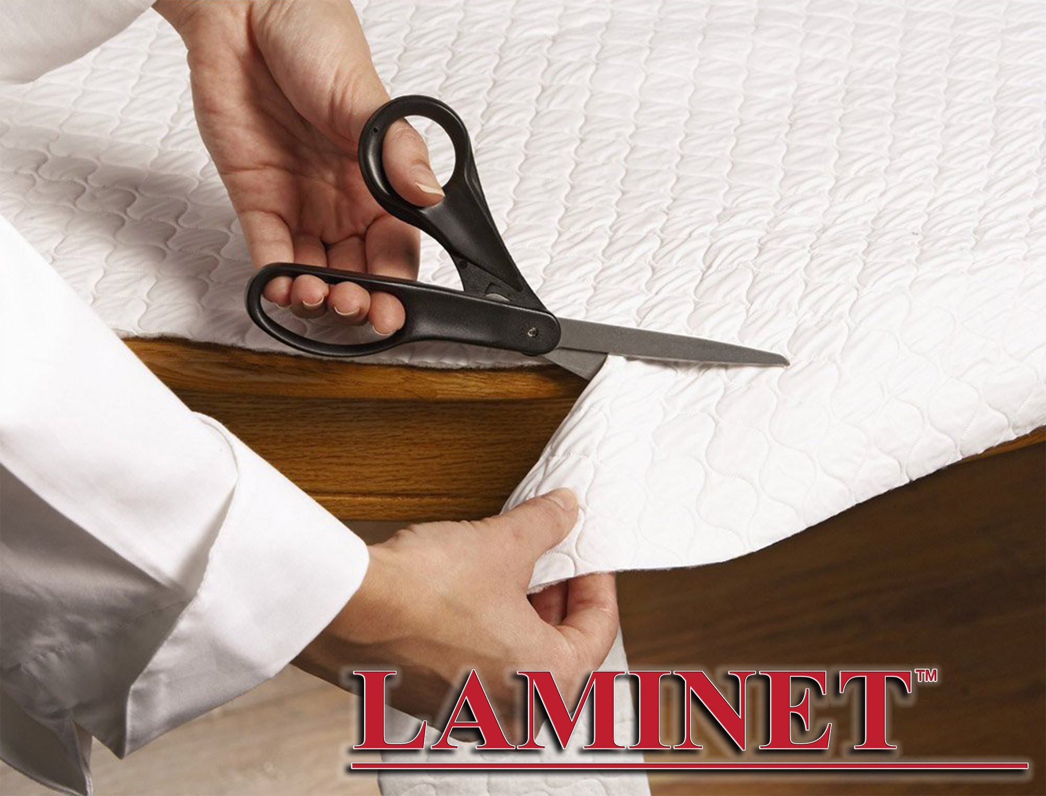 LAMINET - Deluxe Cushioned Heavy-Duty Customizable Quilted Table Pad - 52'' x 108'' Oblong by LAMINET