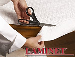 "LAMINET - Deluxe Cushioned Heavy-Duty Customizable Quilted Table Pad - 52"" x 108"" Oblong"