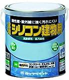 ロックペイント 水性シリコン建物用塗料 クリーム 1.6L H11-1128-6S