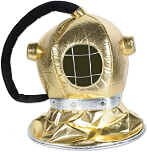 Beistle 59964 Fabric Diver Helmet, One Size Fits Most