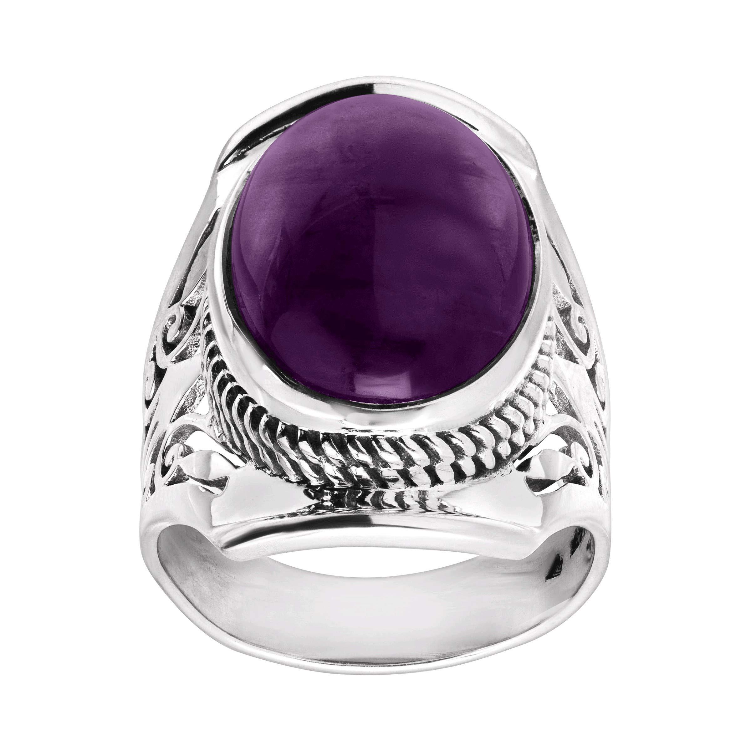 Silpada Purple Prestige Ring