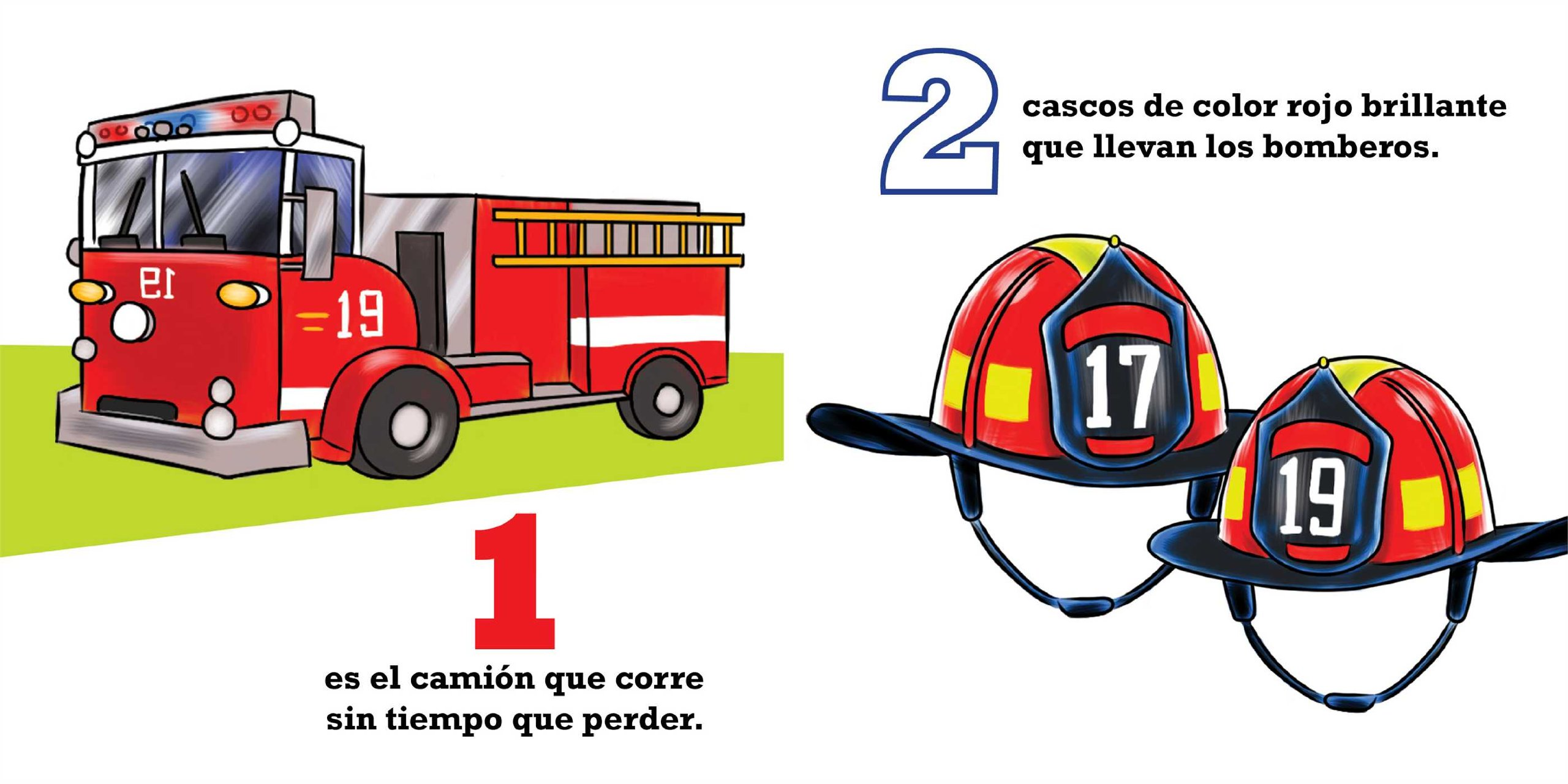 Amazon.com: Mi Primer Libro De Contar: Los Bomberos (Spanish Edition) (9781604334807): Cindy Entin: Books