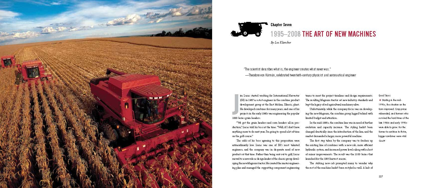 Red Combines 1915-2015: The Authoritative Guide to International Harvester and Case IH Combines and Harvesting Equipment by Octane Press LLC (Image #8)