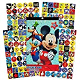 Disney Mickey Mouse Clubhouse 4 Sheet Sticker Pad with Over 200 Stickers