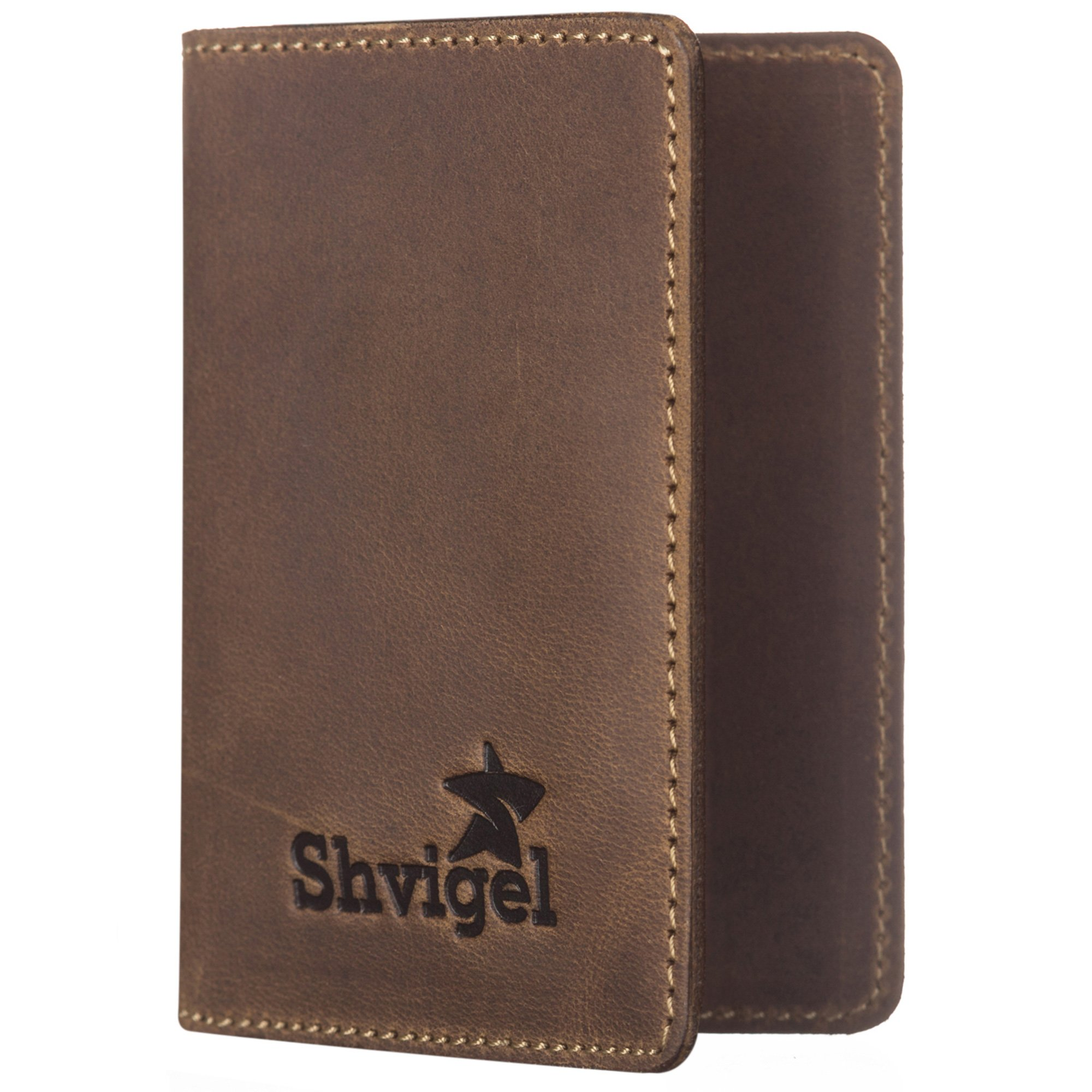 Sale Hot Sale Leather Passport Case - Ready for Main Street by VIDA VIDA Shop Offer Sale Online Cheap Real Authentic Natural And Freely skIsj7K9