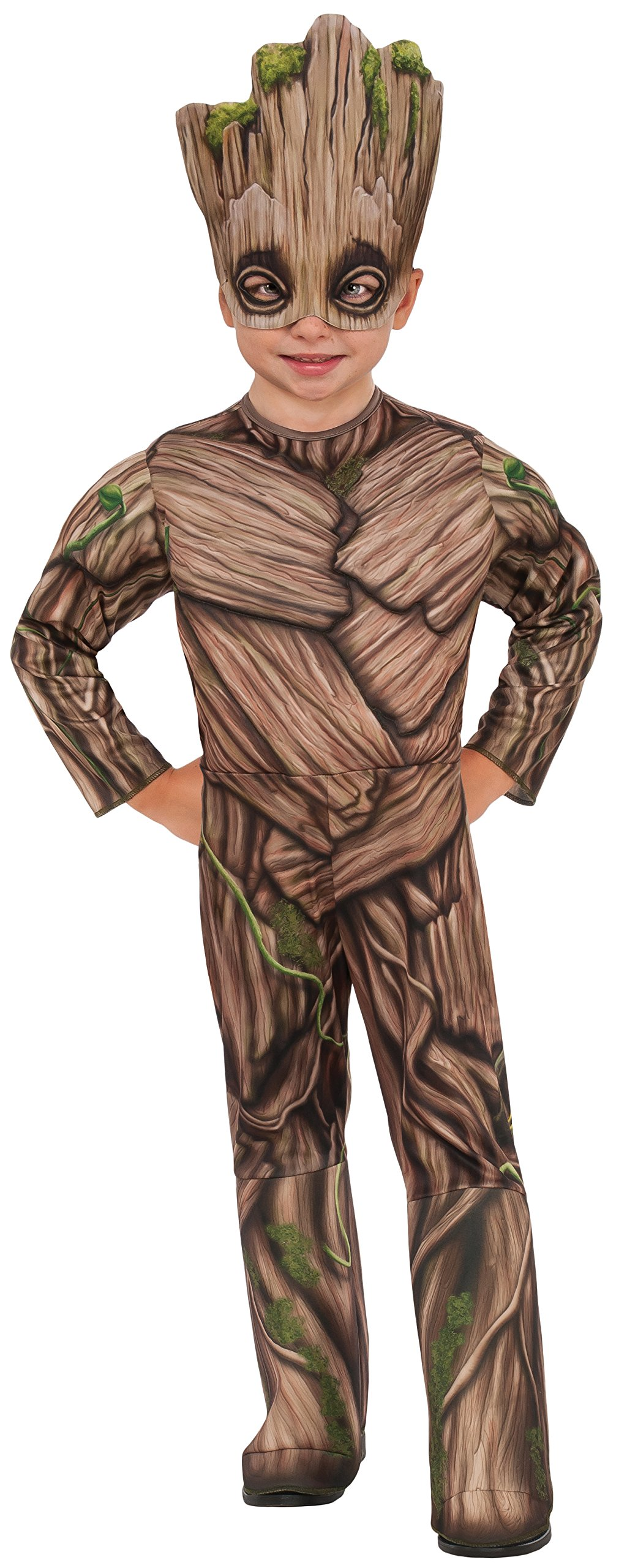 Rubie's Costume Guardians Of The Galaxy Vol. 2 Toddler Deluxe Groot Costume, Multicolor, X-Small