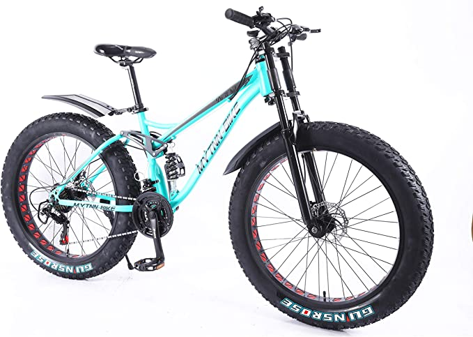 MYTNN Fat Bike design 2020 Snow Bike 26 Inch 21 Speed Shimano Fat tyre Mountain bike