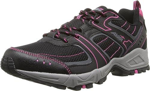 Avia AVI-DELL - Zapatillas de Running para Mujer, Gris (Black/Iron Grey/Zuma Pink), 10 B(M) US: Amazon.es: Zapatos y complementos