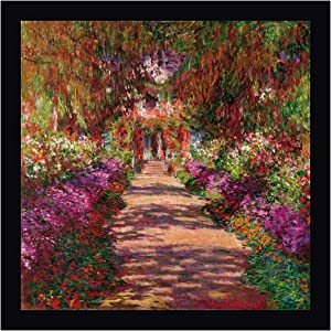 Path in Monets Garden Giverny by Claude Monet - 24