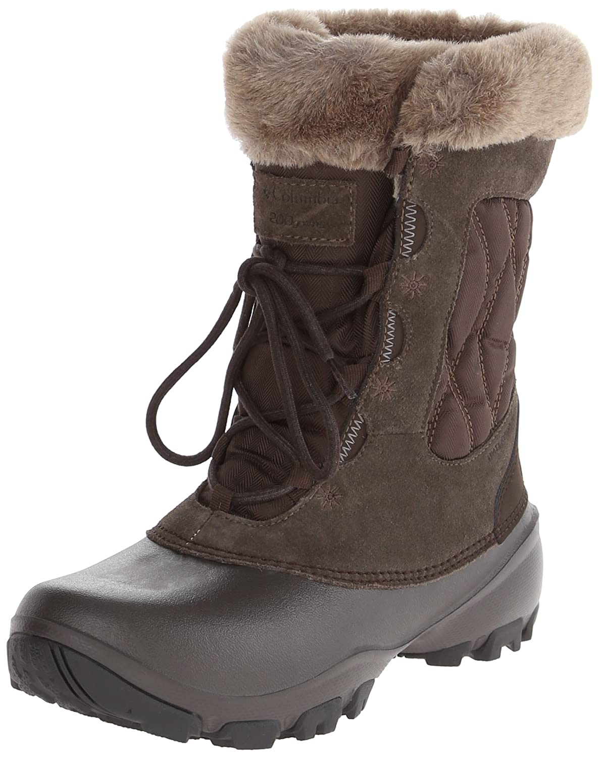 Columbia Women's Sierra Summette IV Winter Boot B00GW95DSM 6 B(M) US|Cordovan, Tusk