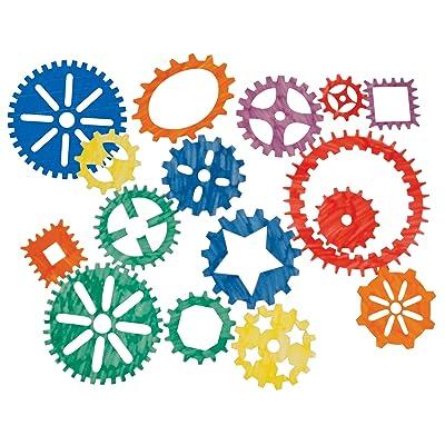 Roylco R-58624 Gear Stencils, 16 Pieces: Industrial & Scientific