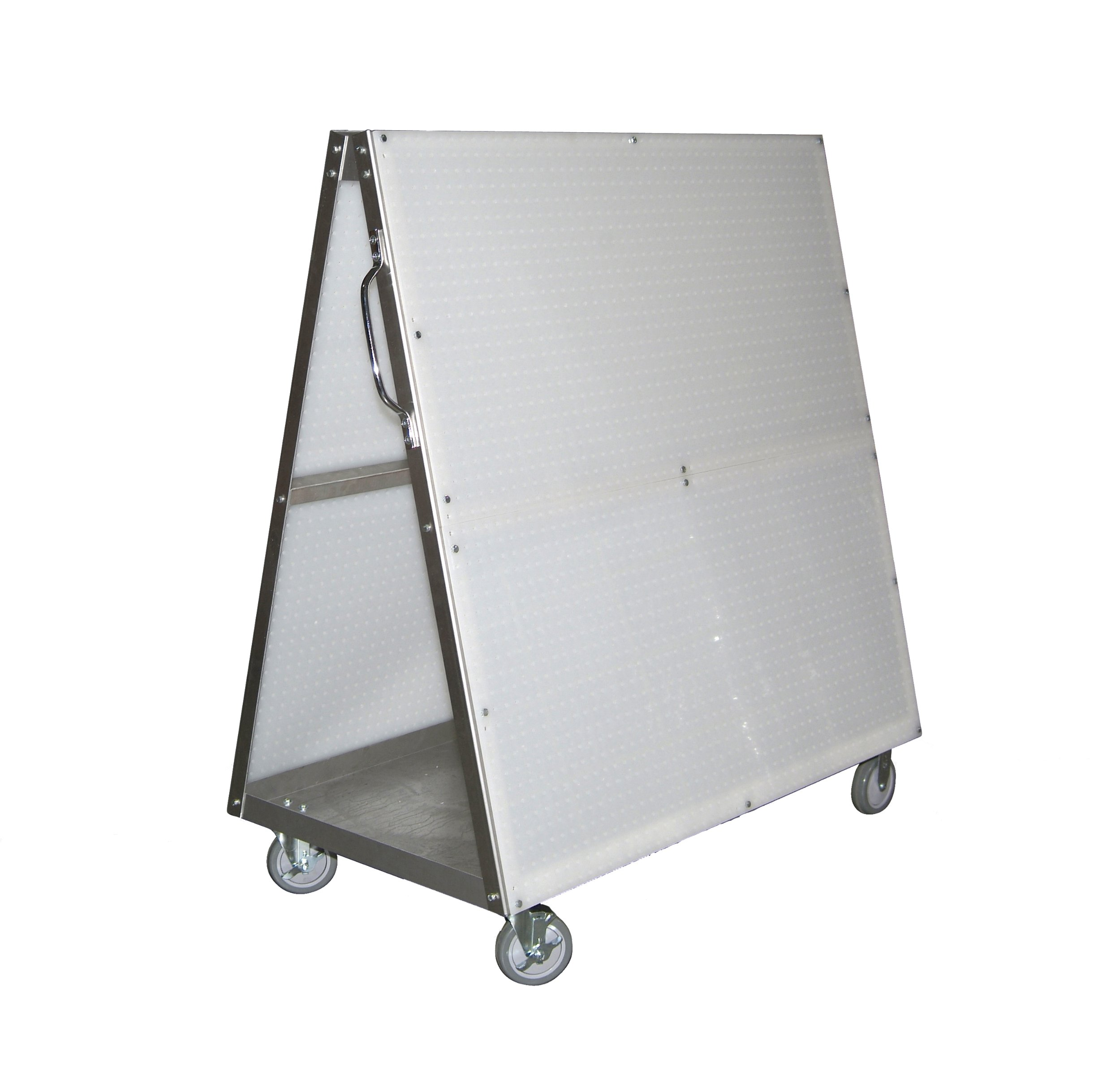 Triton Products DBC-4 DuraBoard Mobile Tool Cart 48-Inch L by 51-1/2-Inch H by 29-3/4-Inch W Aluminum Frame with Tray