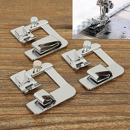 King Do Way – 3 Prensatelas multifuncionales para máquina de coser, repuestos, 12,