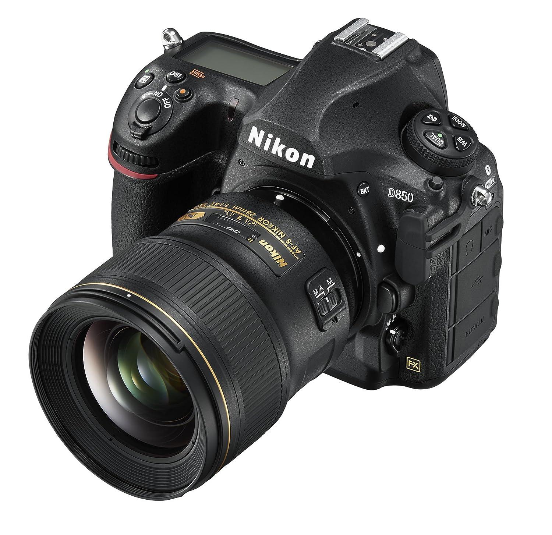 Nikon D850 Fx Format Digital Slr Camera Body W Af S 28mm F18g Nikkor F 14e Ed 14 16 Fixed Zoom Lens Photo