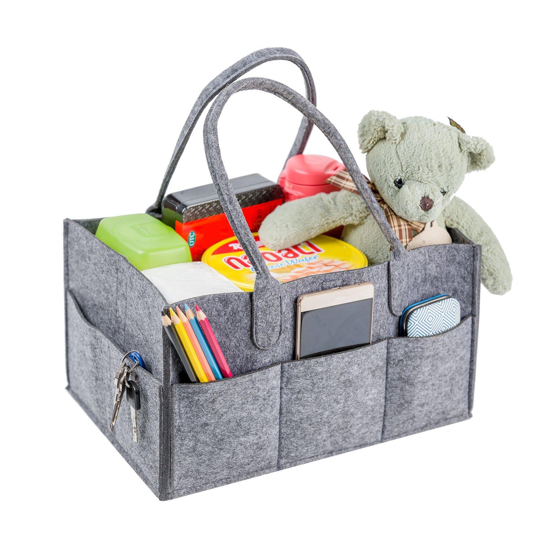Amazon.com: Bolsa de organizador de bebé, portátil ...