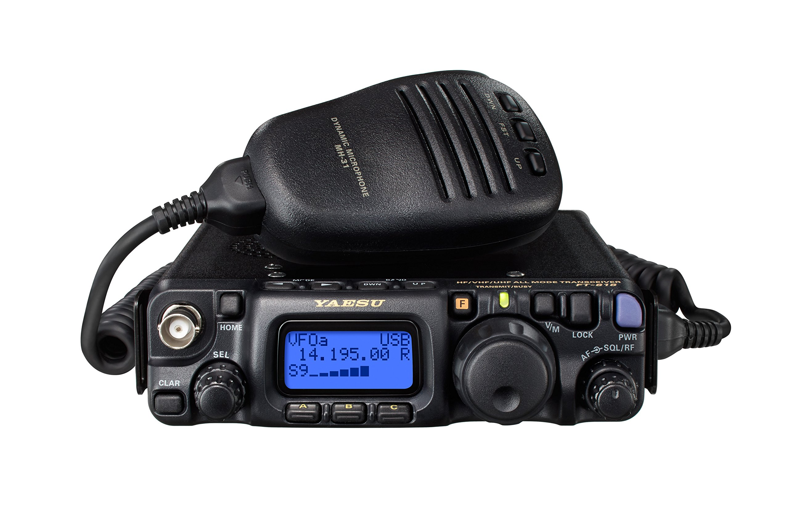 Yaesu FT-818ND FT-818 6W HF/VHF/UHF All Mode Mobile Transceiver by Yaesu