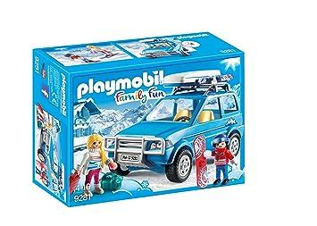 Playmobil-9281 Coche Color Azul única (9281