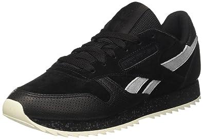 49f6249b358 Reebok Unisex Adults  Classic Leather Ripple SM Running Shoes ...